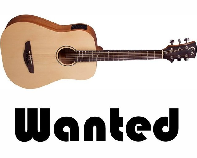 Stock Wanted: Solid Top Acoustic Guitars