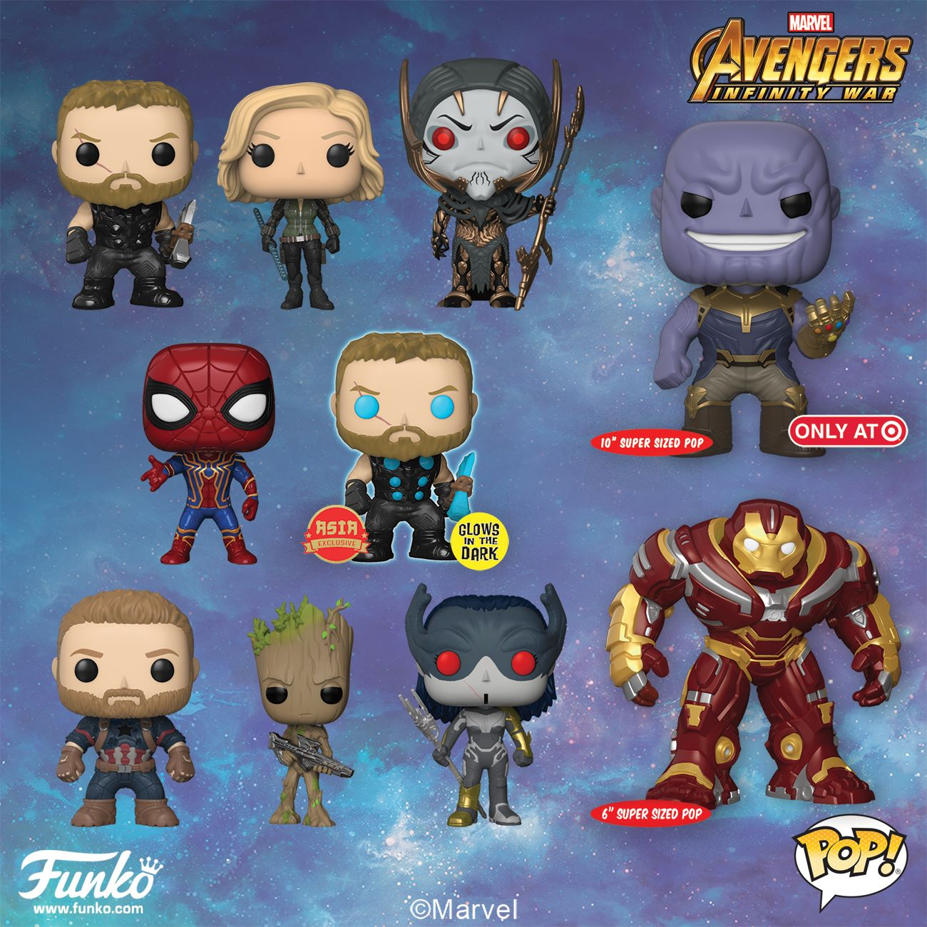 Soon to be Funko-ified: Marvel – Avengers: Infinity War