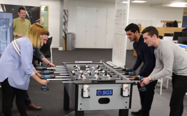 Foosball with a TWIST!