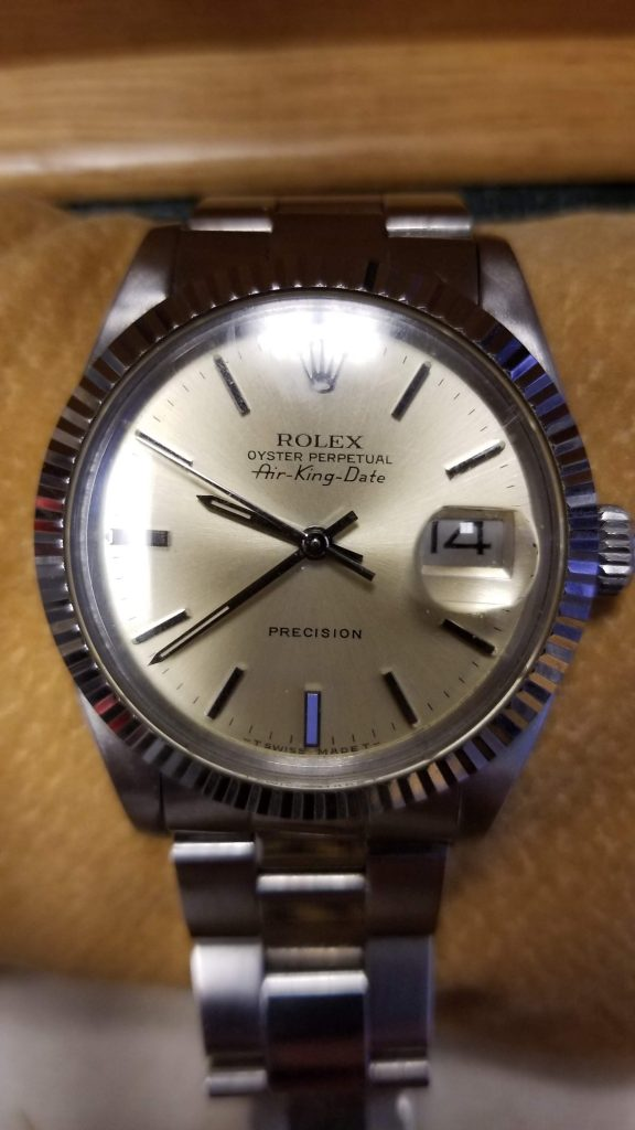 Just in, this beautiful Rolex Air King Precision