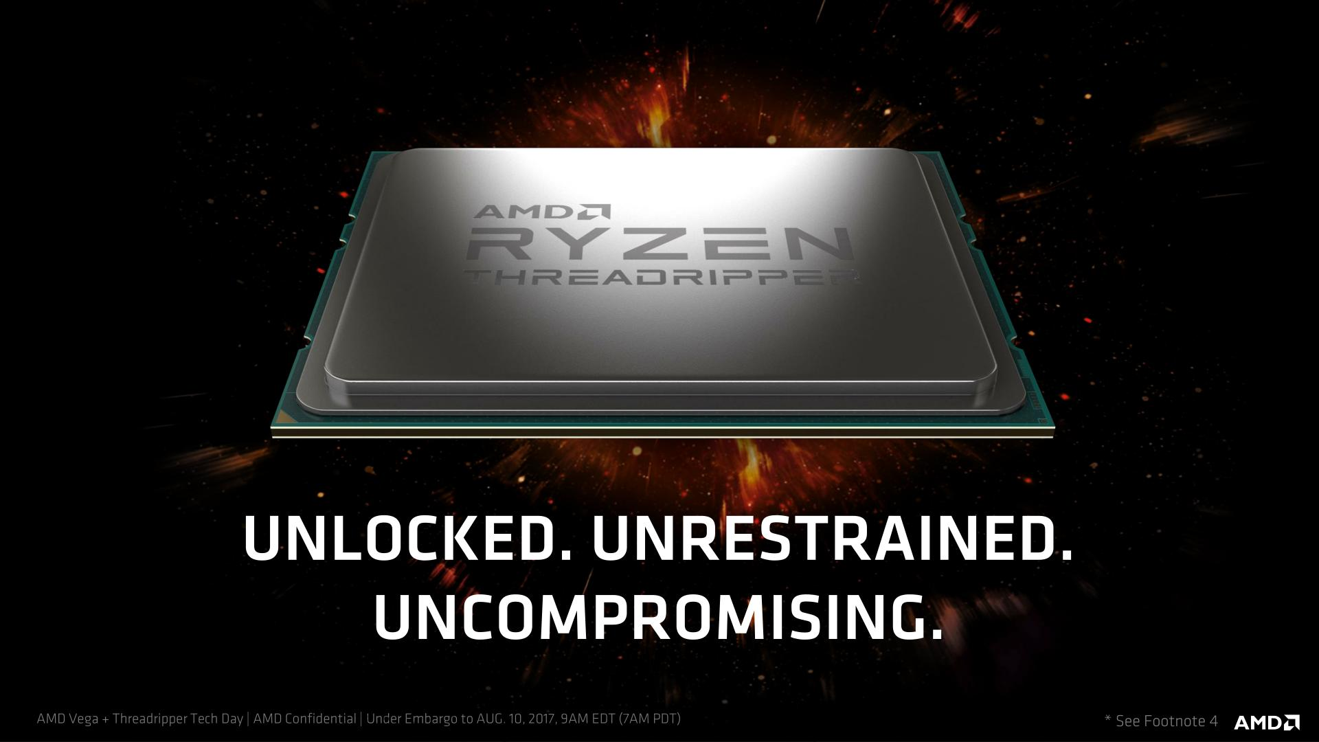 Ryzen Threadripper 2990WX for when 31 cores isn't enough cores.