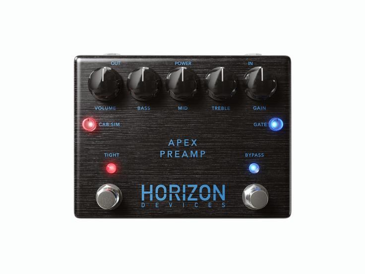 Horizon devices announces new Apex Preamp