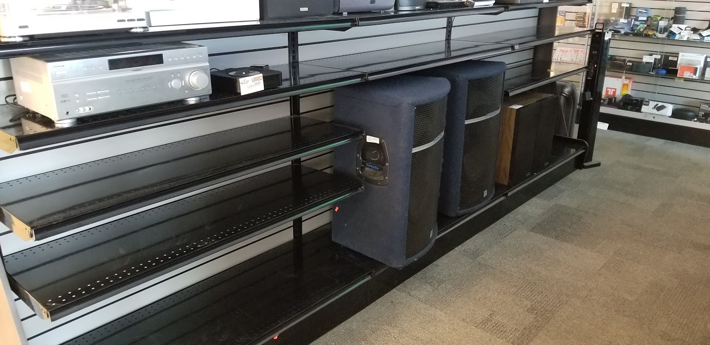 Hey Fredericton, sell us your amplifiers, speakers and other stereo equipment!