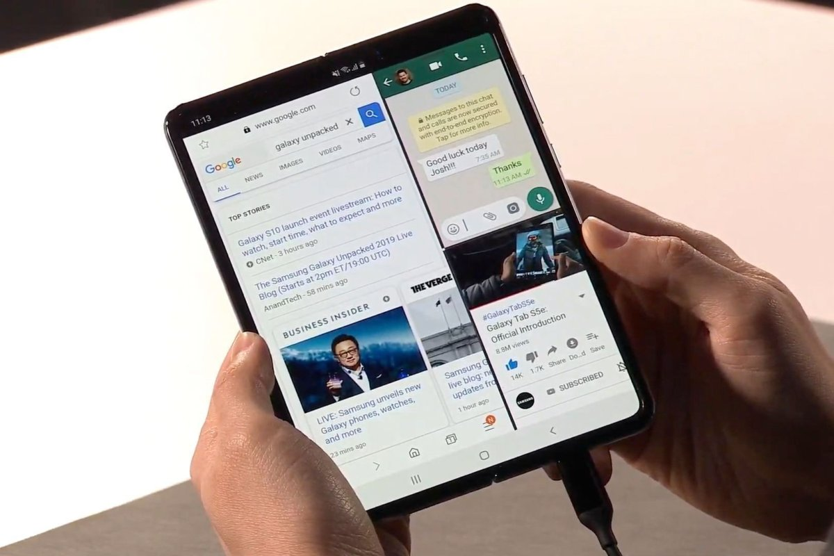 Samsung Galaxy Fold – Because Why Not?