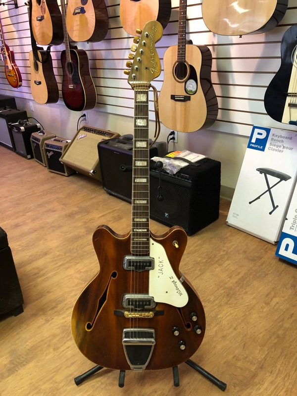 We marked down the Fender Coronado II Wildwood 2 – Only $2499.95!!