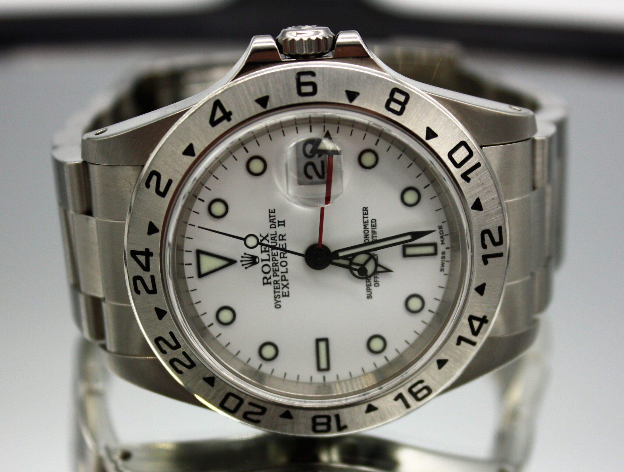 Rolex Explorer II GMT Now in Stock!