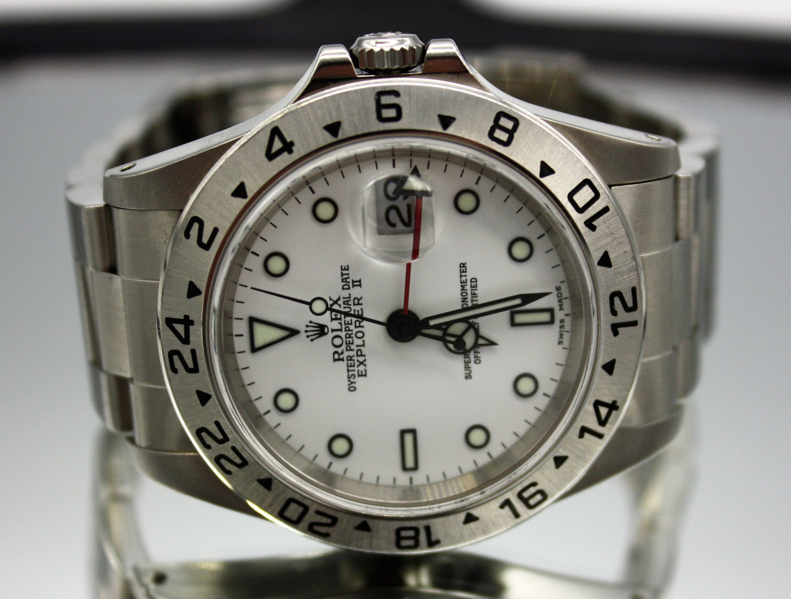 Rolex Explorer II GMT Now in Stock!
