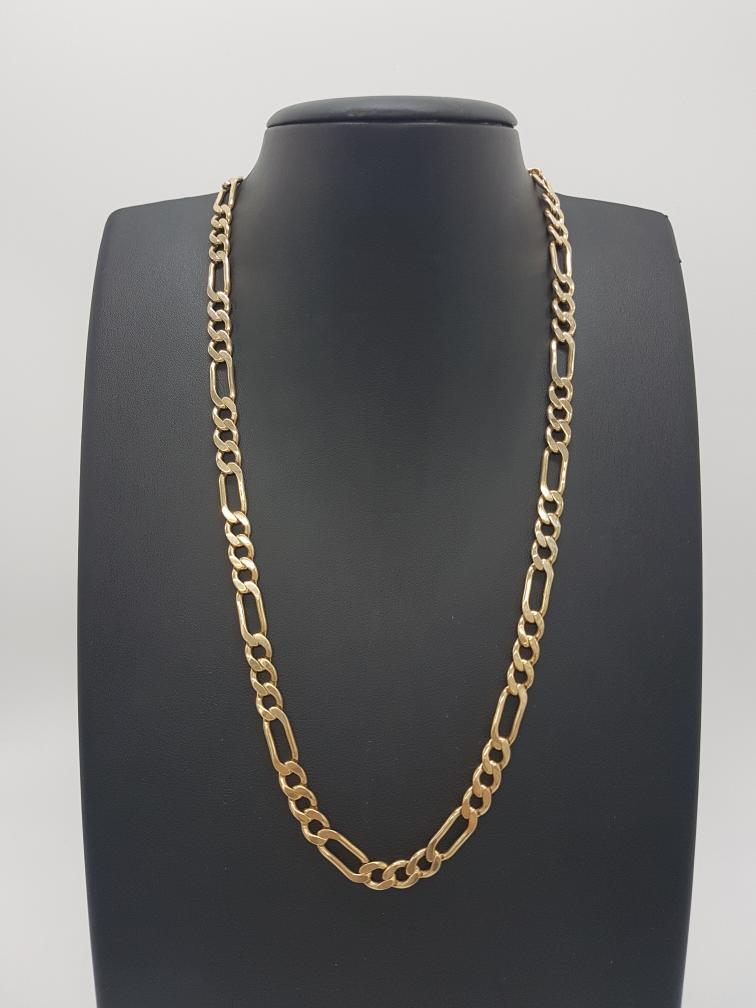 26 Nov 2019 – Men's Solid Gold Figaro Link Chain – $1669
