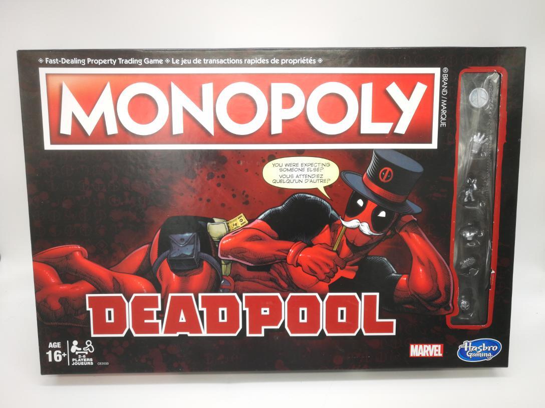 29 Nov 2019 – Deadpool Monopoly – $17