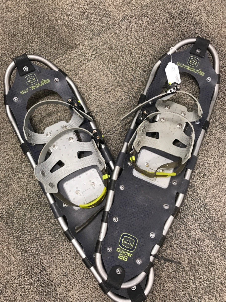 7 Nov 2019 – Outbound Glacier 28 Snowshoes – $49