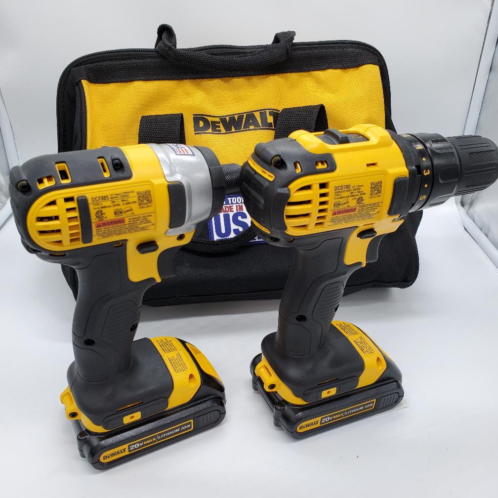 10 Dec 2019 – Dewalt Premium Drill/Impact driver set – $199