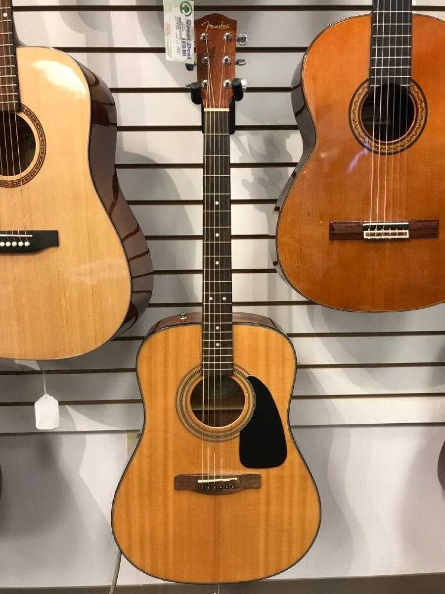 18 Dec 2019 – Fender CD60 Acoustic Guitar – $199