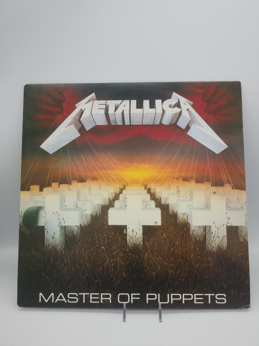 10-11 Jan 2020 – Metallica Master of Puppets LP – $19