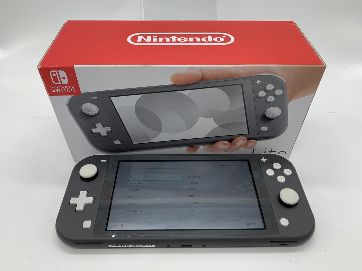 16 Jan 2020 – Nintendo Switch Lite in box – $199