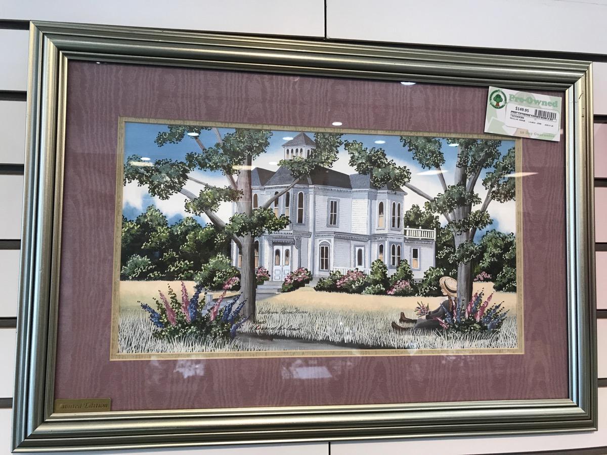 20 Jan 2020 – Nicely Framed Catherine Karnes Munn Print – $149