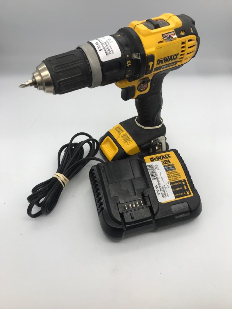 22 Jan 2020 – Dewalt Cordless Hammer Drill – $79