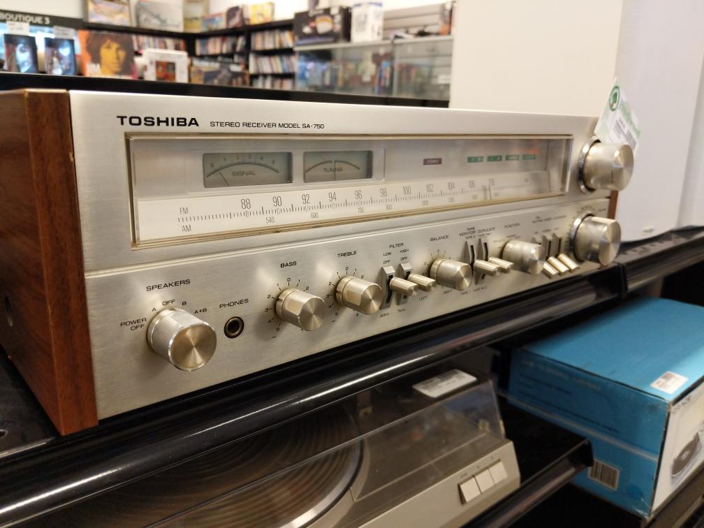 28 Jan 2020 – Vintage Toshiba Stereo Receiver – $249