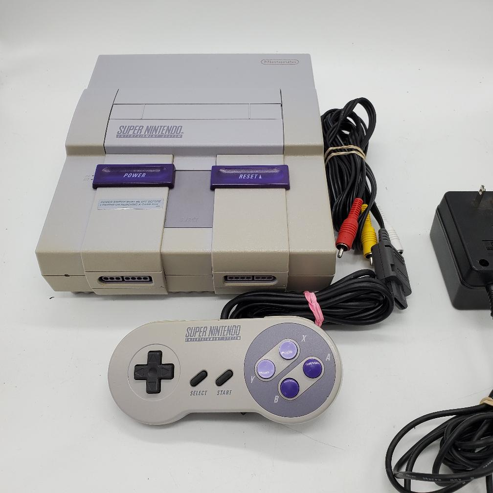 4 Jan 2020 – Original Super Nintendo (SNES) Console – $89