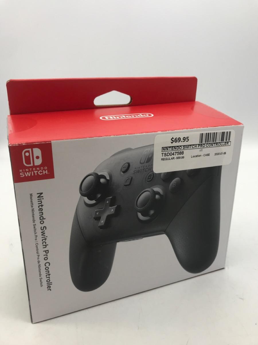 5 Jan 2020 – Nintendo Switch Pro Controller – $69