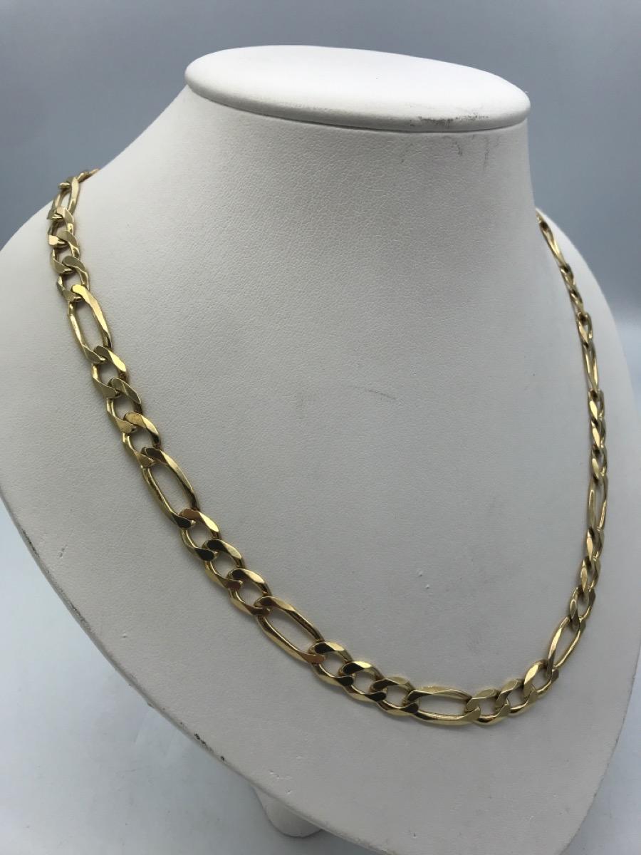 8 Jan 2020 – Heavy Solid Gold 10k Figaro Chain – $1799