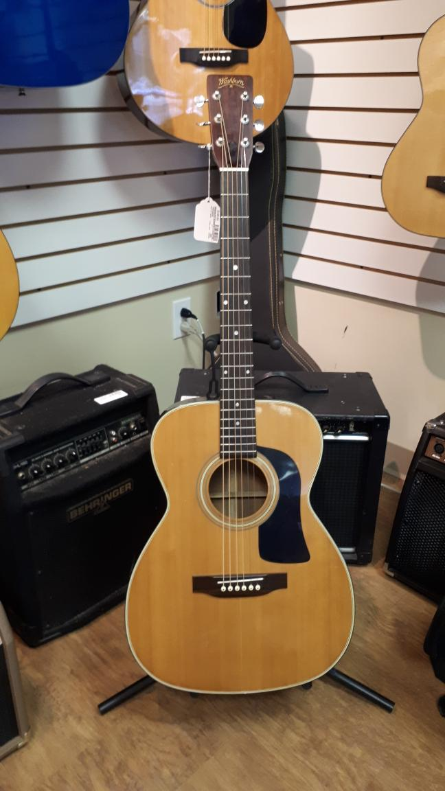 10 Feb 2020 – Washburn Acoustic Guitar – $149