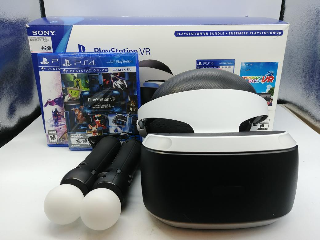 26 June 2020 – SONY PS4 VR BLOOD & TRUTH BUNDLE – $329