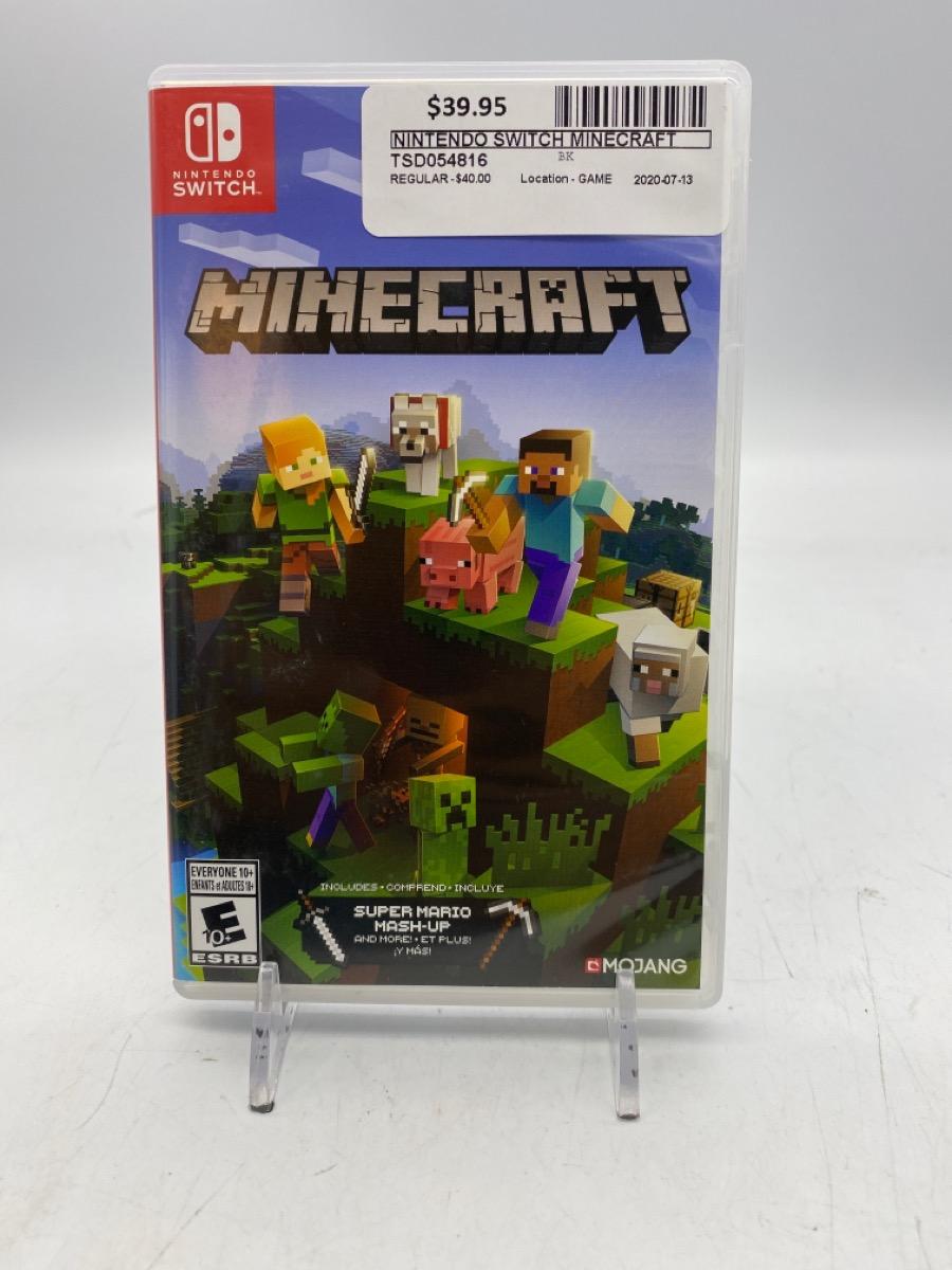 14 July 2020 – Nintendo Switch Game – Minecraft – $39