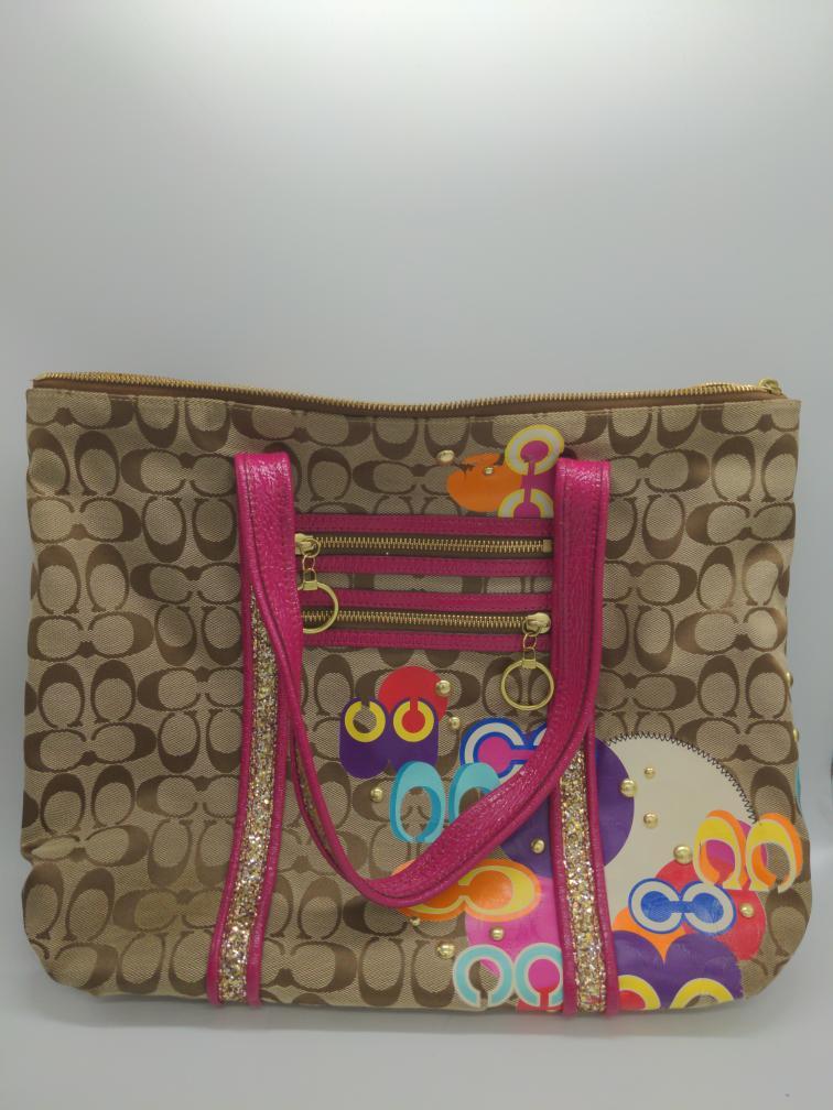 """22 July 2020 – Coach """"Poppy"""" Tote Handbag – $49"""