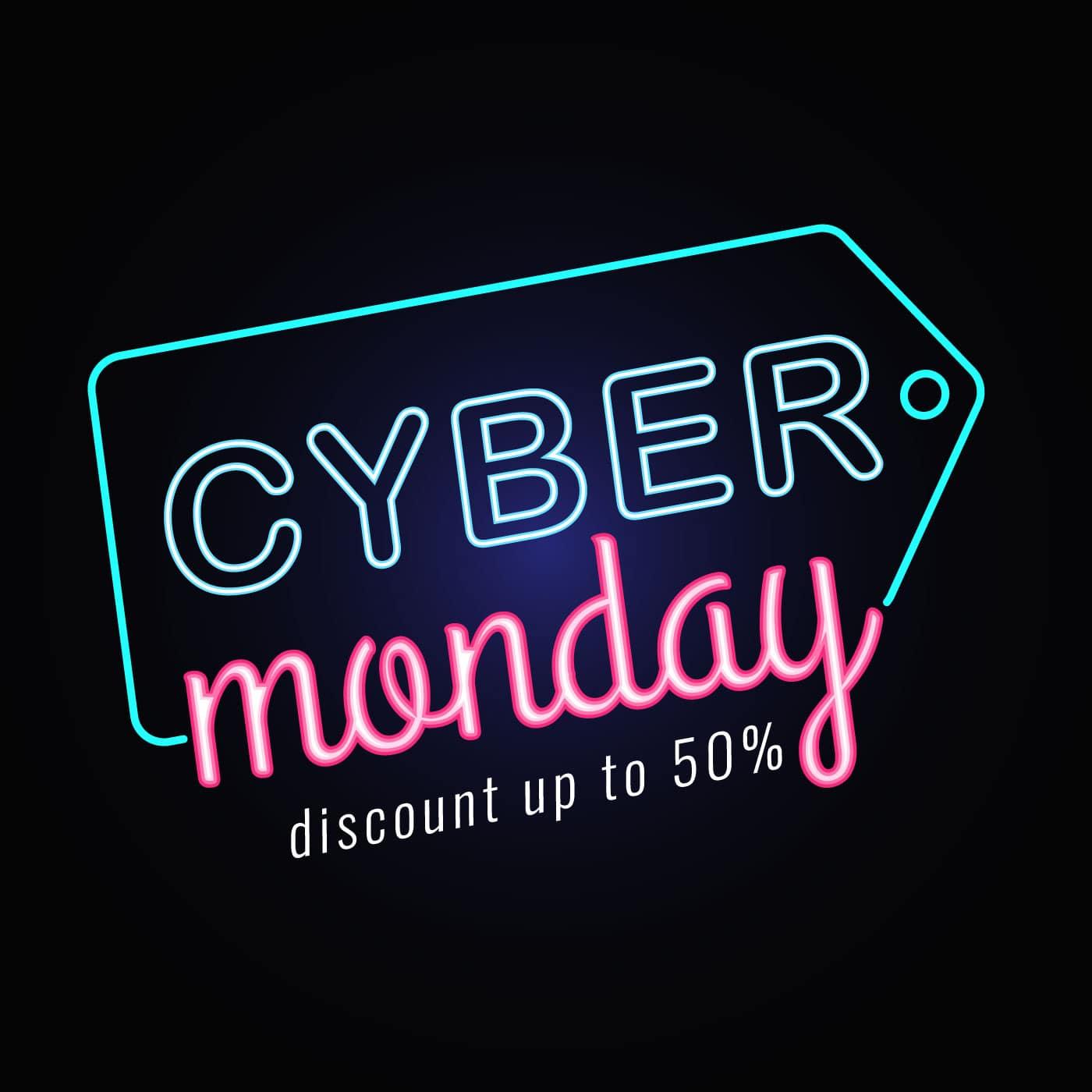 Cyber Monday Web Sale