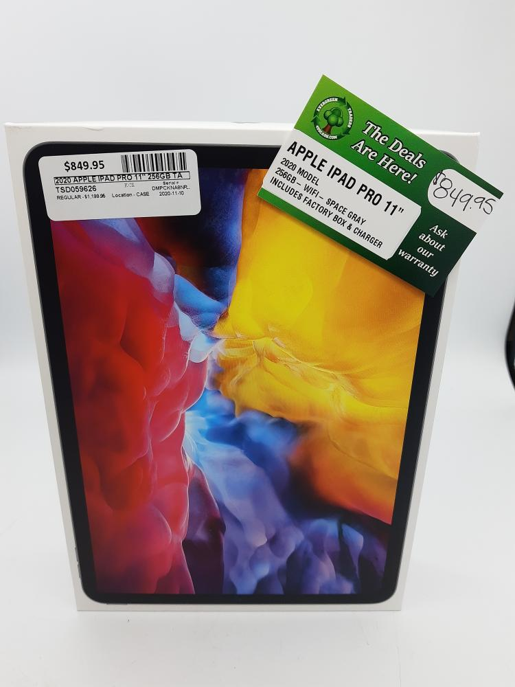 12 Nov 2020 – Apple Ipad Pro 256GB – $849