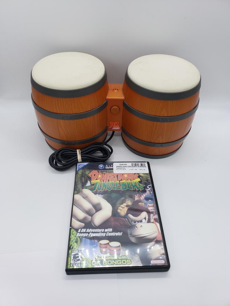 7 Nov 2020 – Rare Donkey Kong Jungle Beat w/Bongos – $39