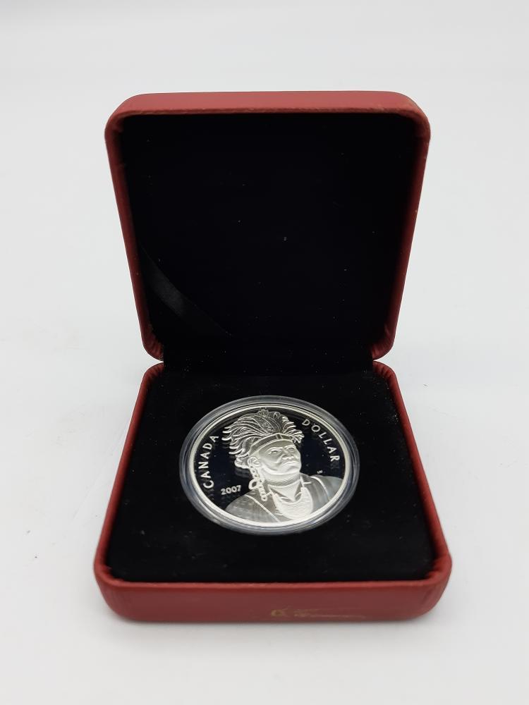 Tues Dec 15 – Royal Canadian Mint Silver Proof (92.5%) – $29