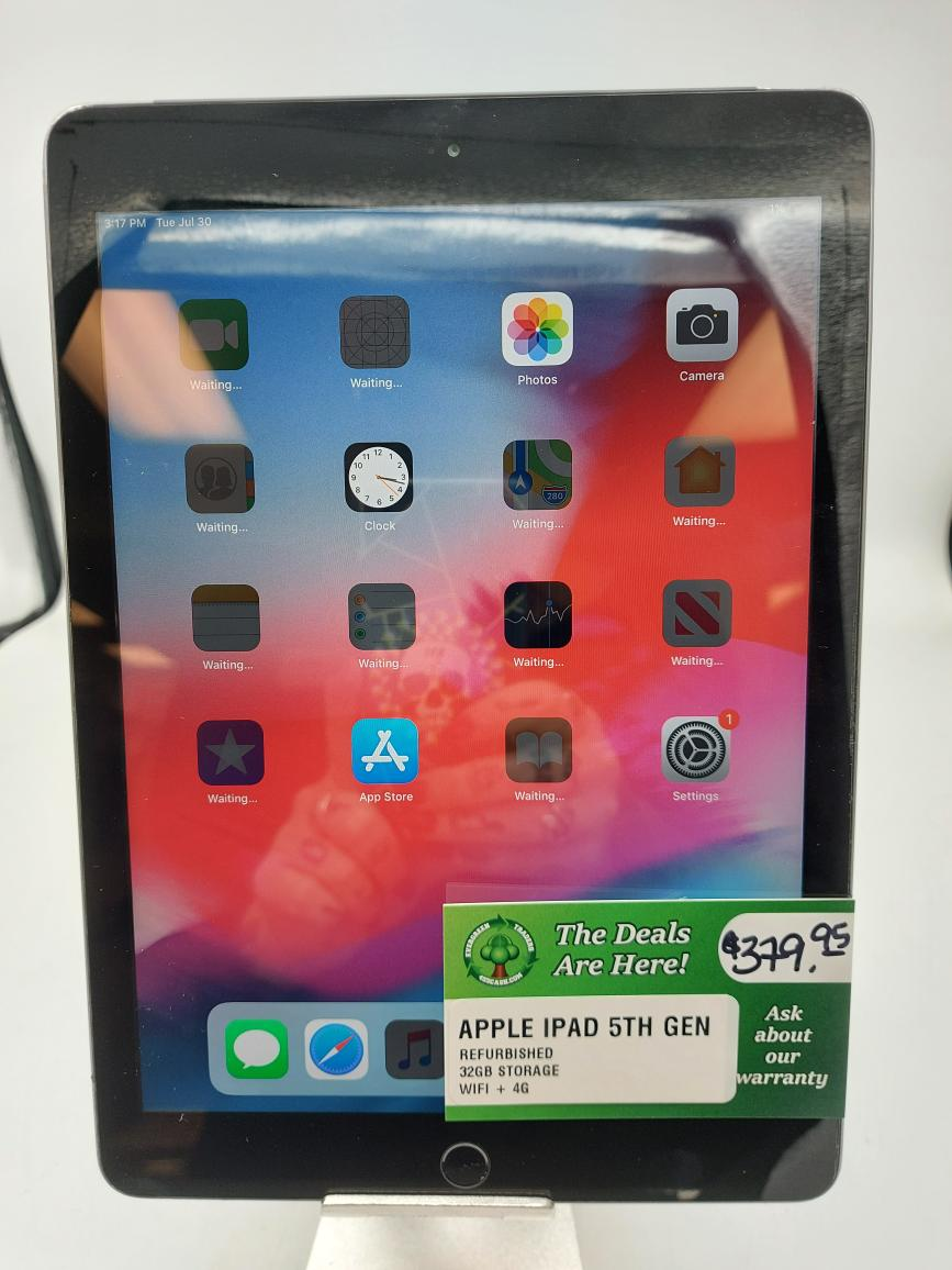 Fri Dec 4 – Apple IPad 5th Gen 32GB – $379