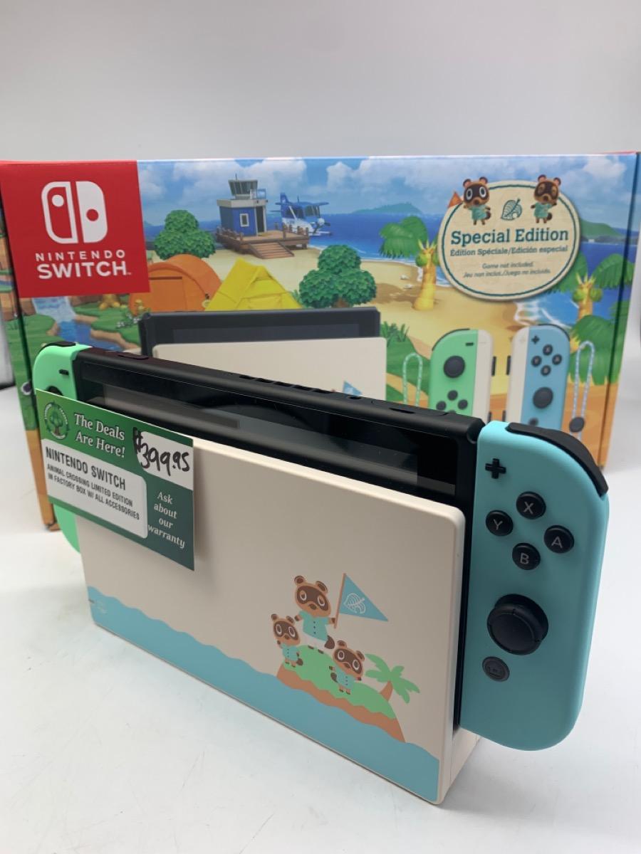 Thurs Jan 14 – Nintendo Switch Console Animal Crossing – $399