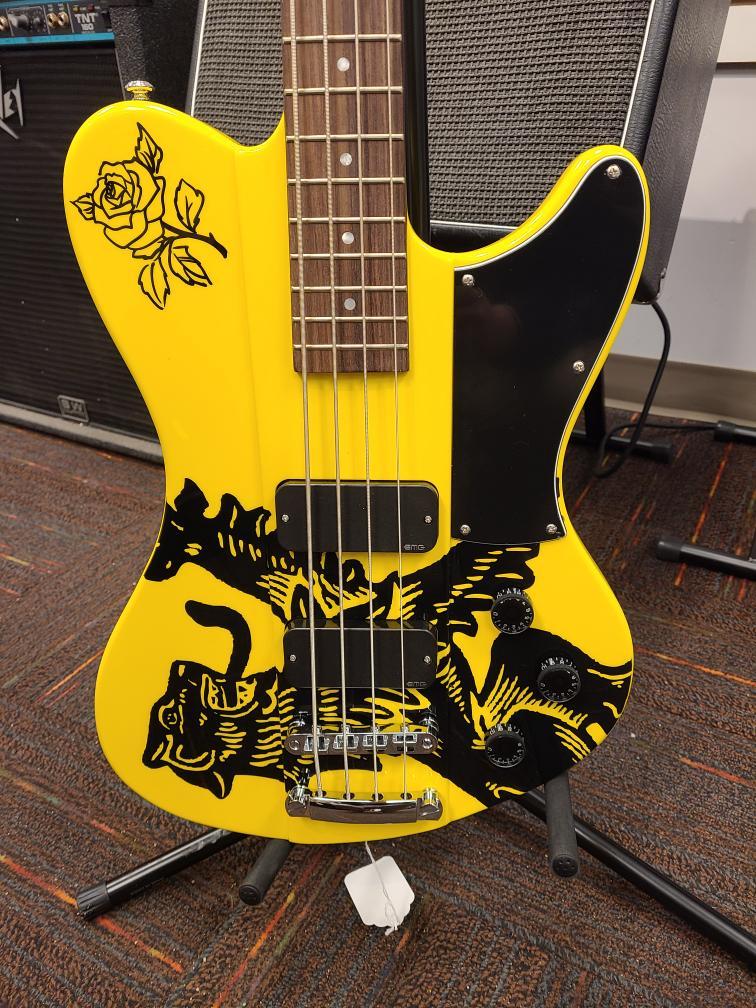 Fri Jan 15 – Schecter Simon Gallup Ultra Spitfire LTD Edition Bass Guitar – $1149