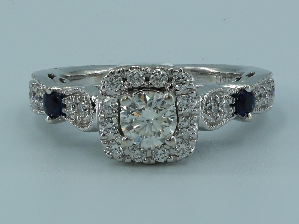Tues Jan 19 – 14k White Gold Diamond Ring – $699