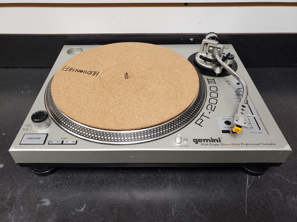 Fri Jan 22 – Gemini Direct Drive DJ Turntable – $159