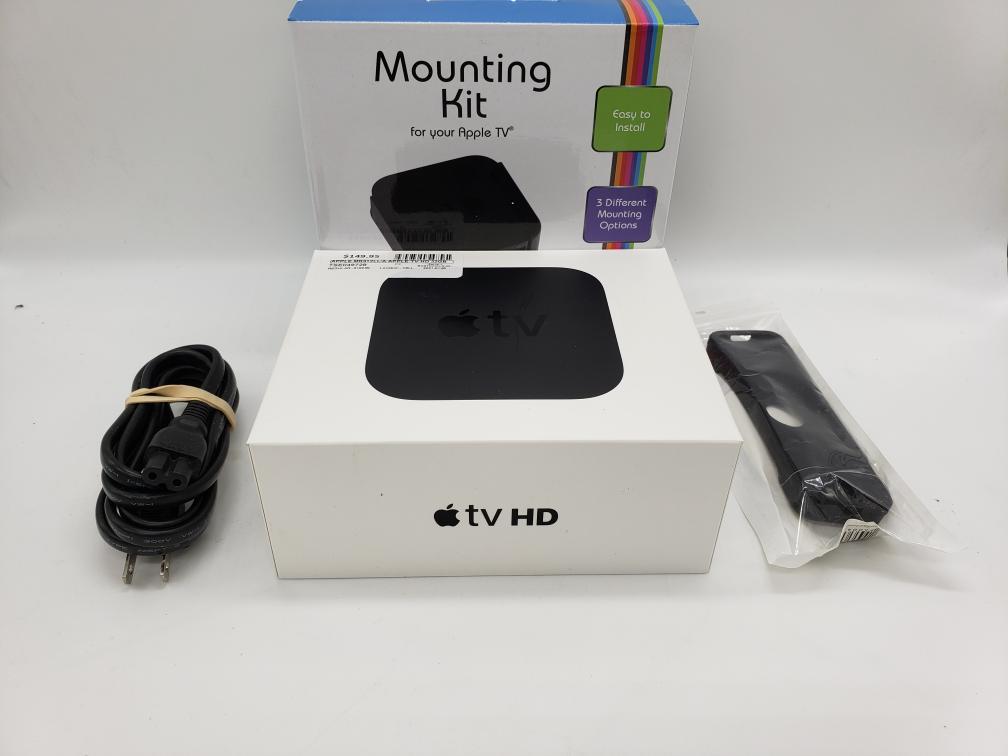 Fri Jan 29 – Apple TV HD 4th Gen w/Mounting Kit – $149