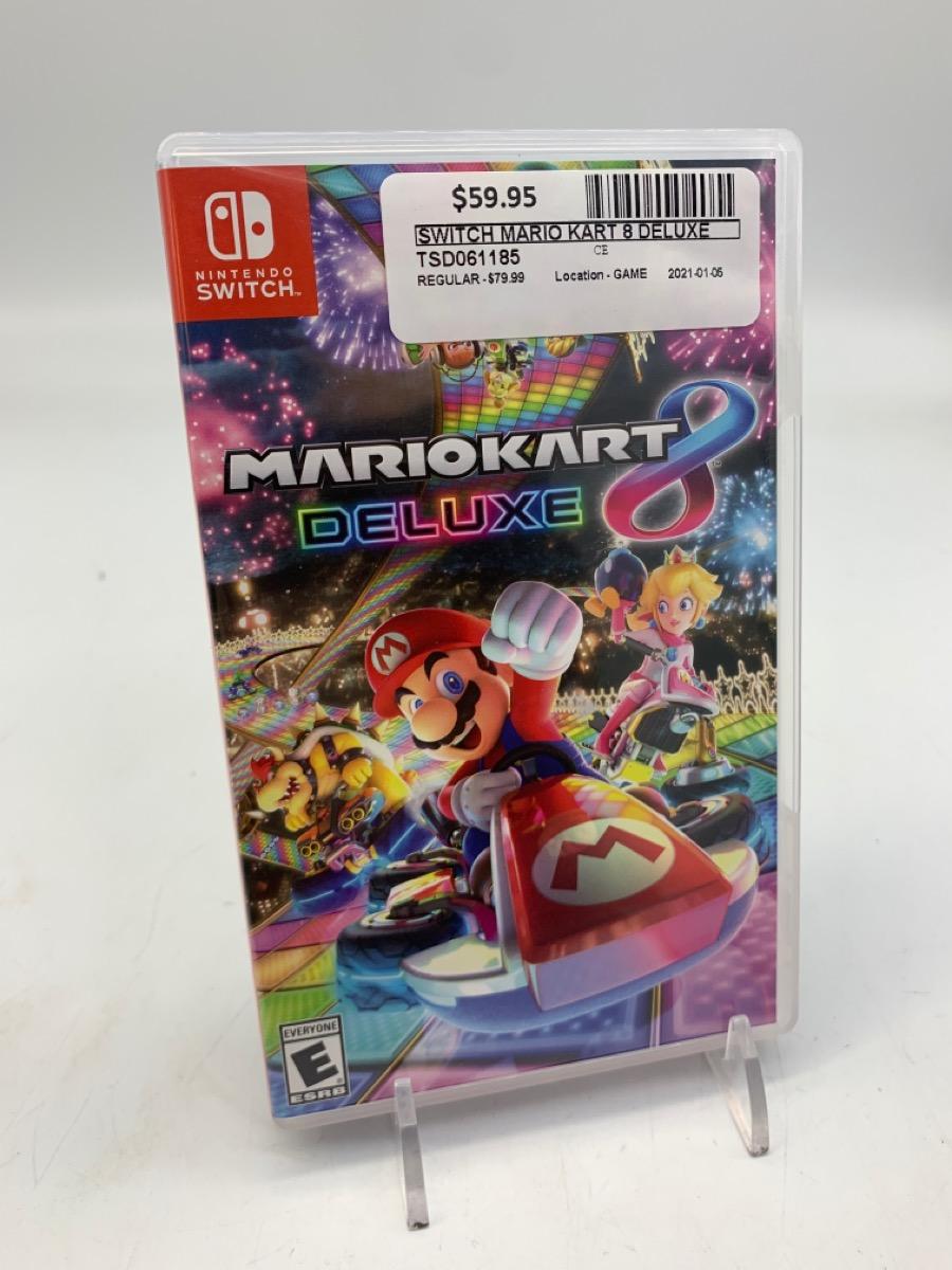 Wed Jan 6 – Nintendo Switch Mario Kart 8 Deluxe – $59