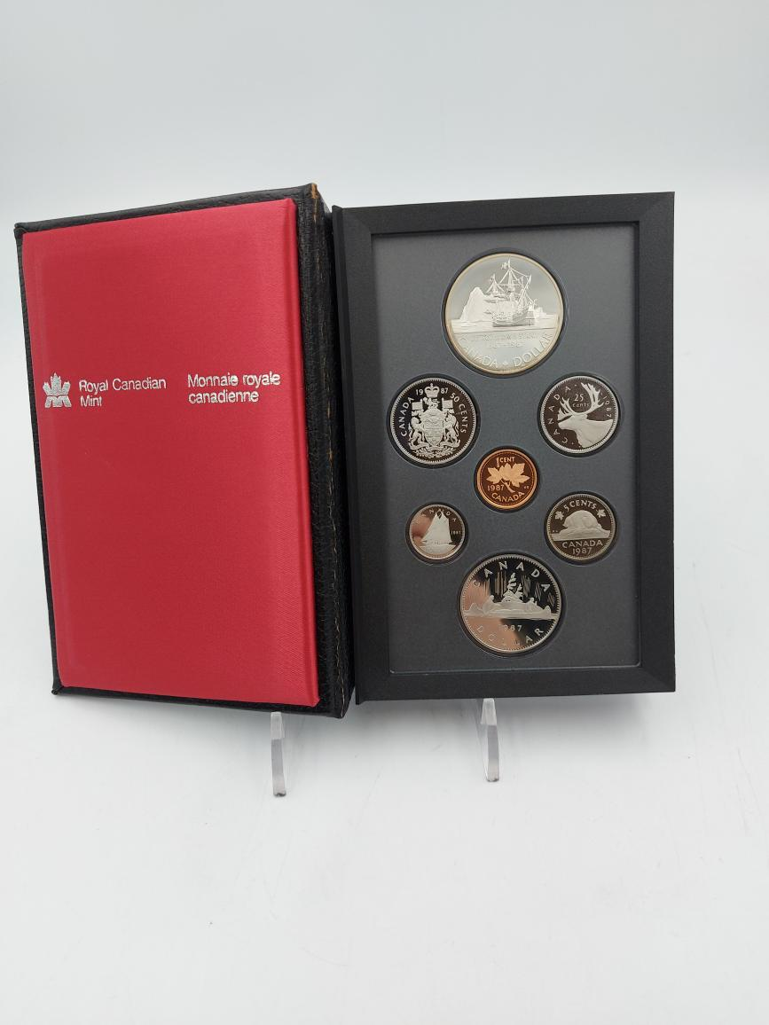 Thurs Feb 11 – Royal Canadian Mint Coin Proof Set .500 Silver – $19.95