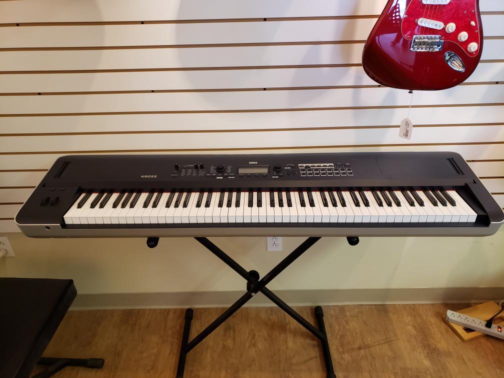 Tues Mar 2 – Korg Kross 2 88key MIDI Keyboard/Workstation – $999