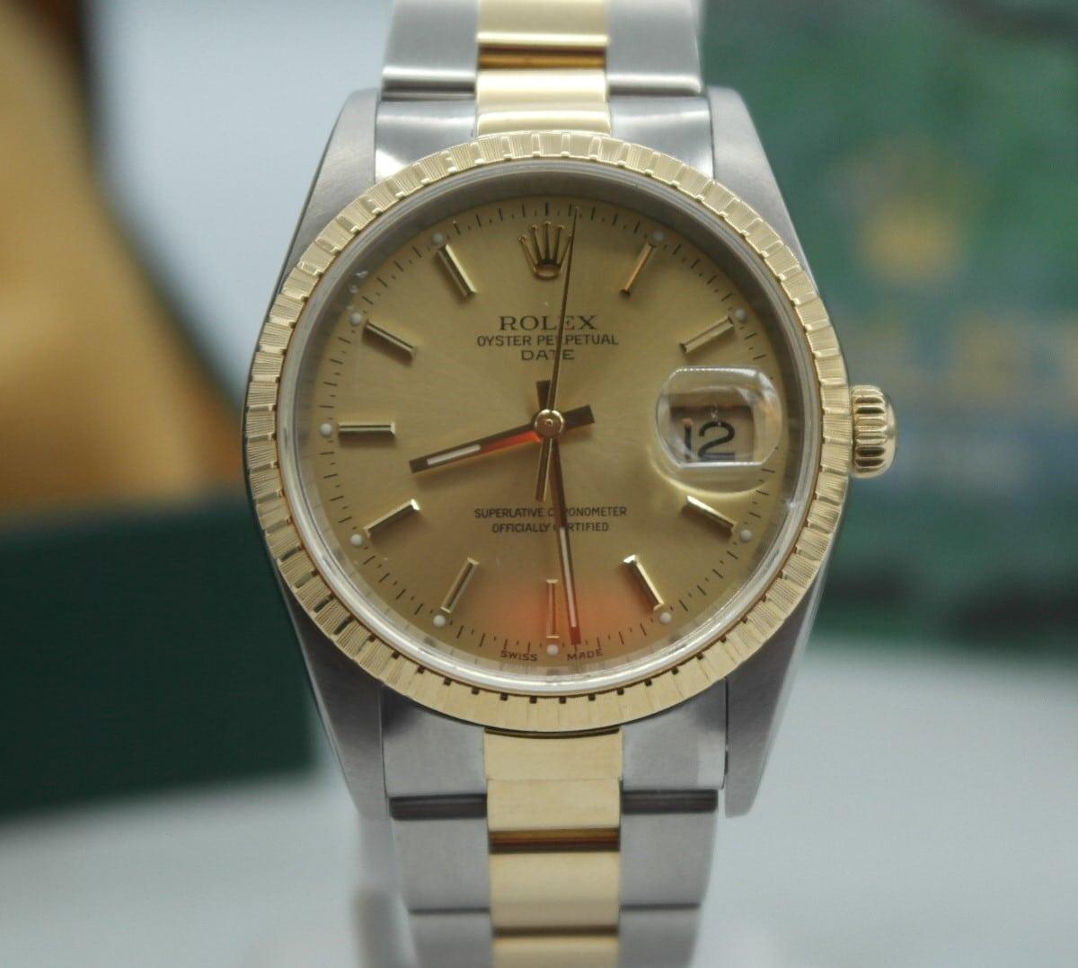 Mon Mar 22 – Rolex Datejust Two Tone 18k & SS – $5995