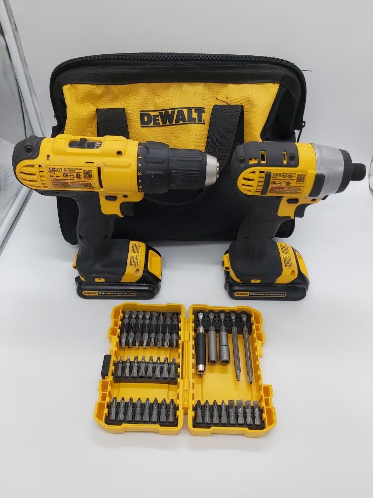 Tues Mar 23 – Dewalt Cordless Drill Combo Set – $149