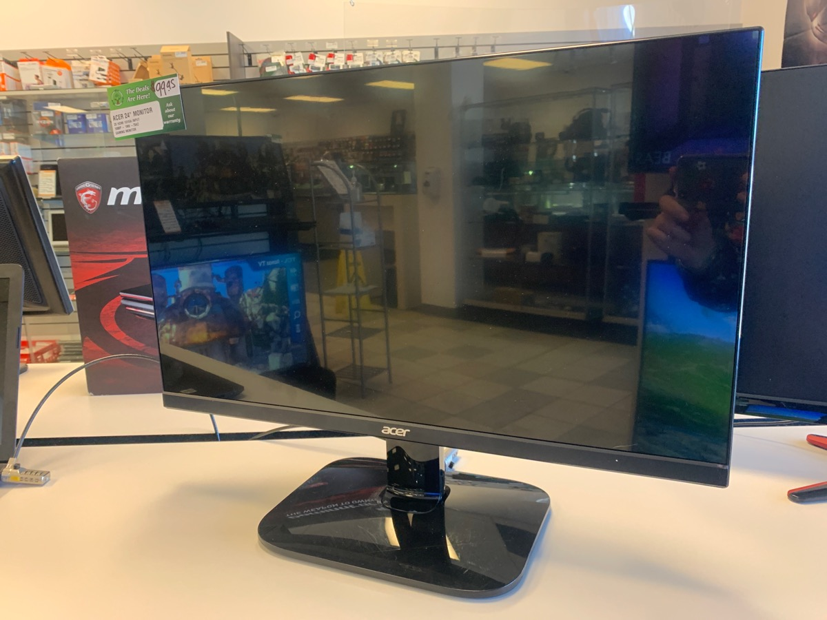 Fri Mar 5 – Acer 24inch 1080p Gaming Monitor – $99