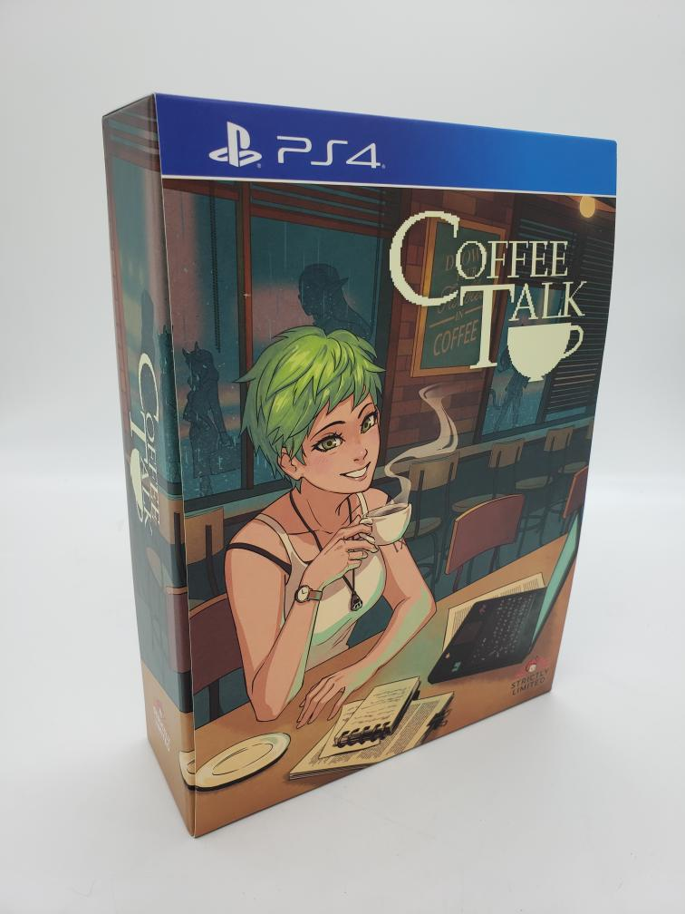 Thurs Apr 22 – PS4 Coffee Talk Limited Edition – $99