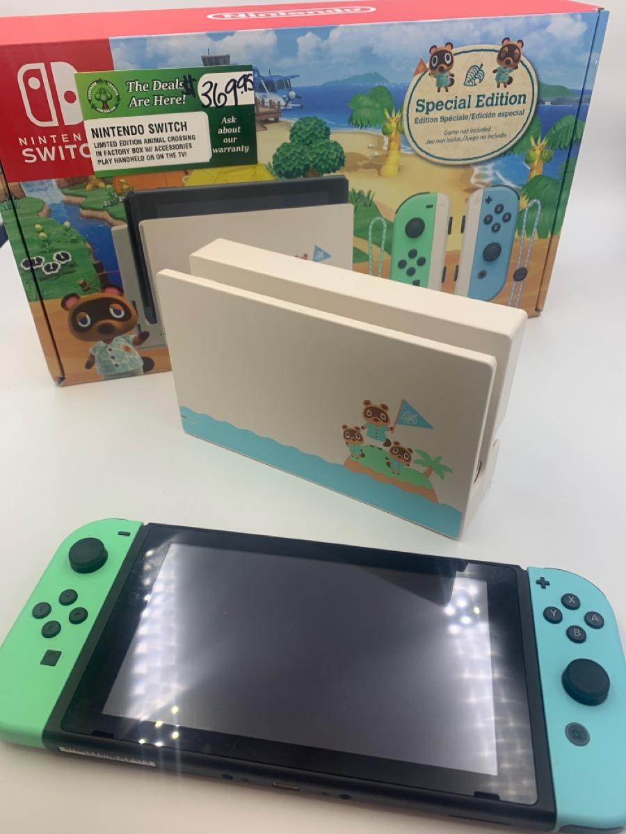 Fri May 14 – Nintendo Switch Animal Crossing Special Edition – $369