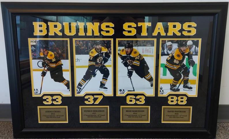 Mon May 17 – Boston Bruins Signature Authentics Framed Photo – $329