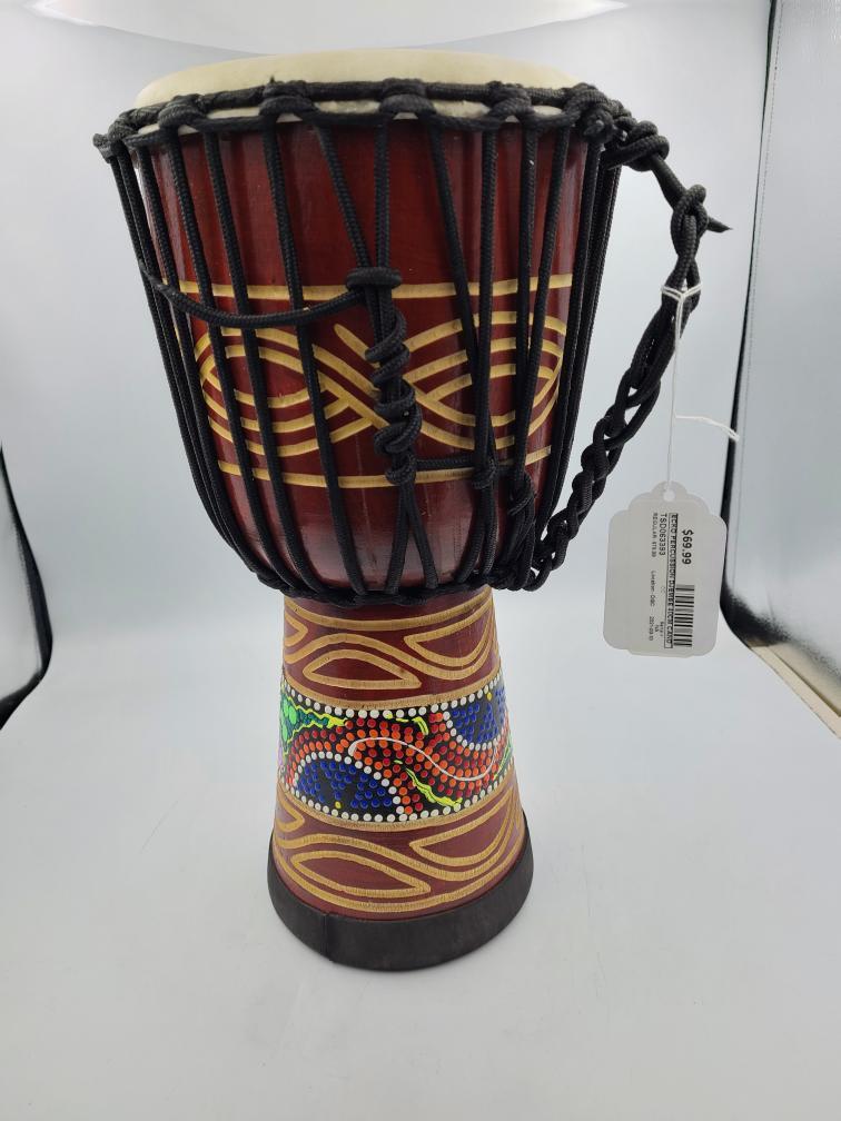Mon June 14 – Brand New Ecko Percussion 40cm Djembe – $62.99