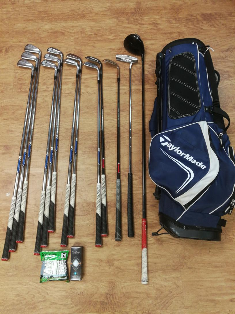 Mon June 7 – Taylormade Golf Club Set with bag – $499