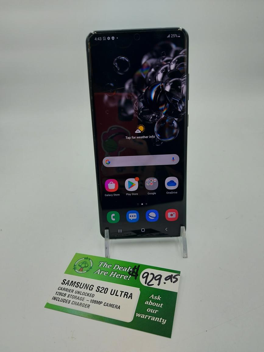 Sat July 10 – Samsung Galaxy S20 Ultra 5G Mobile Phone – $929